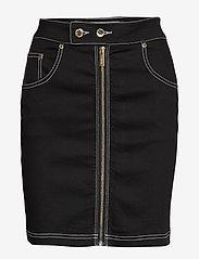 Ivyrevel - FRONT ZIP TWILL SKIRT - jupes en jeans - black - 0