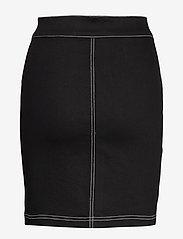 Ivyrevel - FRONT ZIP TWILL SKIRT - jupes en jeans - black - 1