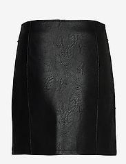 Ivyrevel - STUDDED PU MINI SKIRT - jupes courtes - black - 1