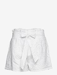 Ivyrevel - PAPER BAG MINI SHORTS - casual shortsit - white - 1
