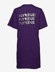 Ivyrevel - IVY TSHIRT DRESS - midi dresses - purple - 2