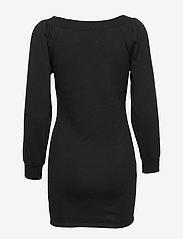 Ivyrevel - OFF SHOULDER SWEATER DRESS - robes de jour - black - 1