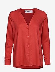 Ivyrevel - BUTTON UP SHIRT - blouses à manches longues - burnt red - 0