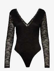 Ivyrevel - DEEP V LACE BODY - body - black - 0