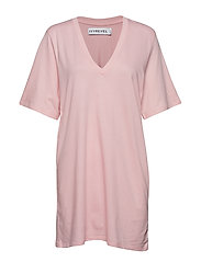Ivy Tshirt Dress - LIGHT PINK