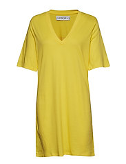 Ivy Tshirt Dress - YELLOW