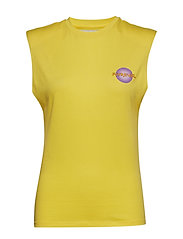 Sleeveless Ivy Top - YELLOW