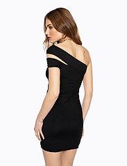 Ivyrevel - CROSS SHOULDER DRESS - lyhyet mekot - black - 4