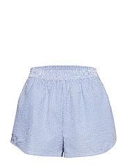 High Waisted Shorts - BLUE MIX