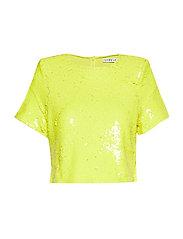 Sequin Tshirt - YELLOW