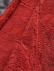 Ivyrevel - TEDDY JACKET - nahkatakit - black/burnt red - 9