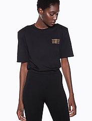 Ivyrevel - IVY TSHIRT - printed t-shirts - black - 0