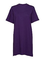 IVY TSHIRT DRESS - PURPLE