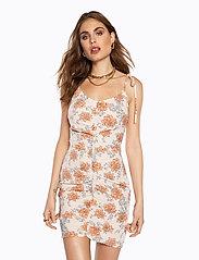 Ivyrevel - DRAPY STRAP DRESS - lyhyet mekot - multi floral - 0