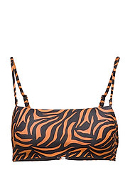 Ivyrevel BANDEAU TOP - ORANGE ZEBRA PRINT