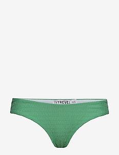 Crinkle Bikini Bottom - LIGHT GREEN