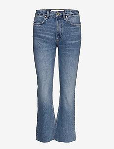 KICK FLARE JEANS - jeans évasés - blue