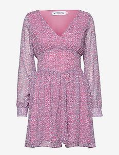FLOWY DRESS - korte kjoler - ditsy flower