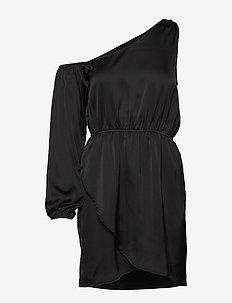 ONE SHOULDER DRESS - robes de fête - black