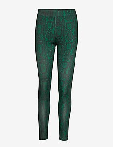SLIM FIT PANTS - GREEN SNAKE