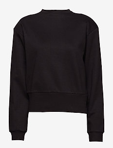 Jersey Sweater - BLACK