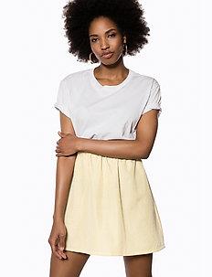 MINI SKIRT - jupes courtes - yellow stripe