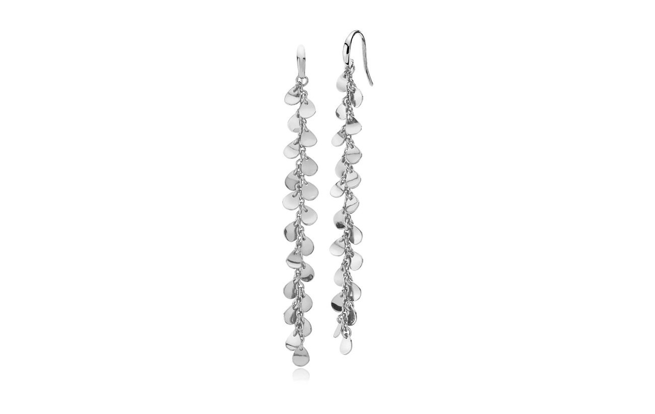 Izabel Camille Robinia Large Earring - SHINY SILVER