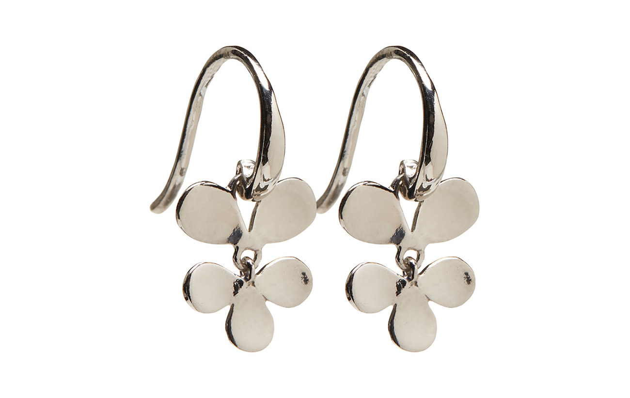 Izabel Camille Robinia Earring - SHINY SILVER