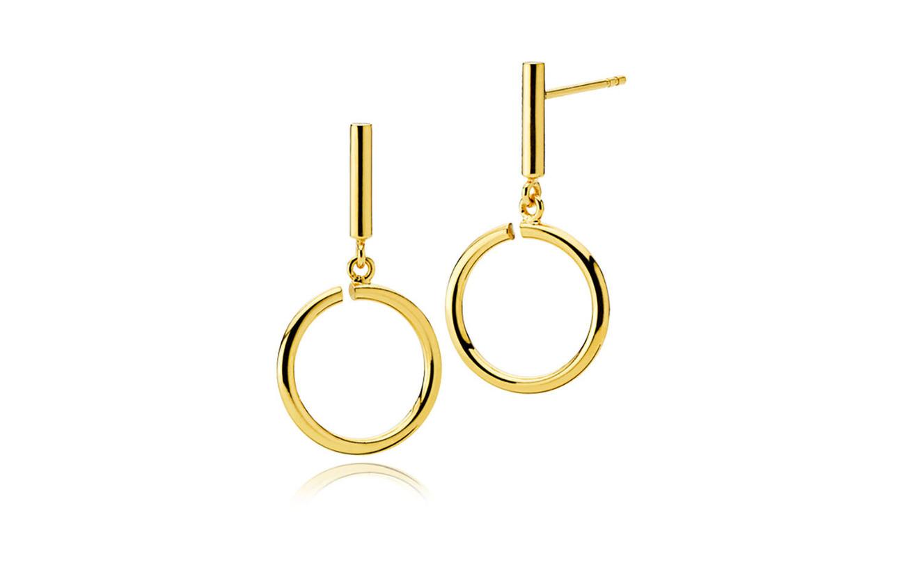 Izabel Camille Metropol Medium Earring - SHINY GOLD