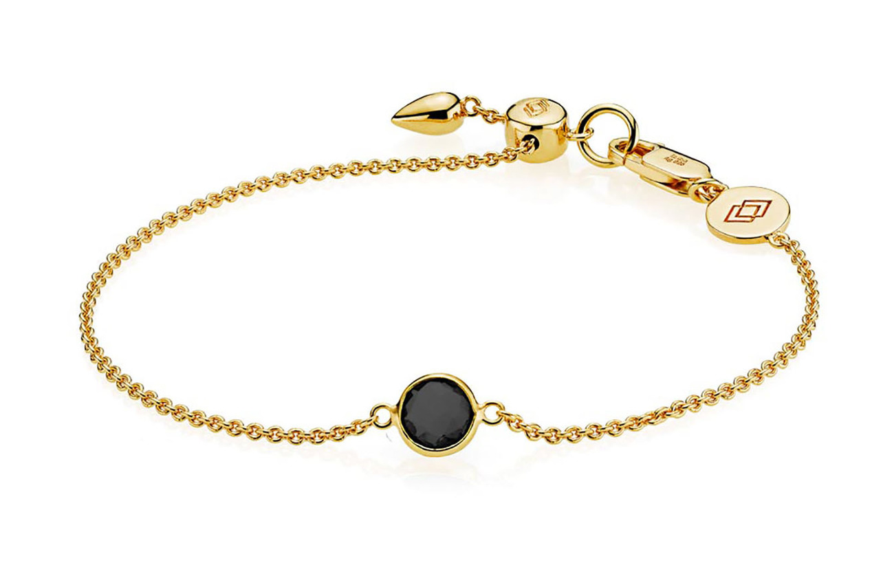 Izabel Camille Prima Donna Bracelet - SHINY GOLD, BLACK