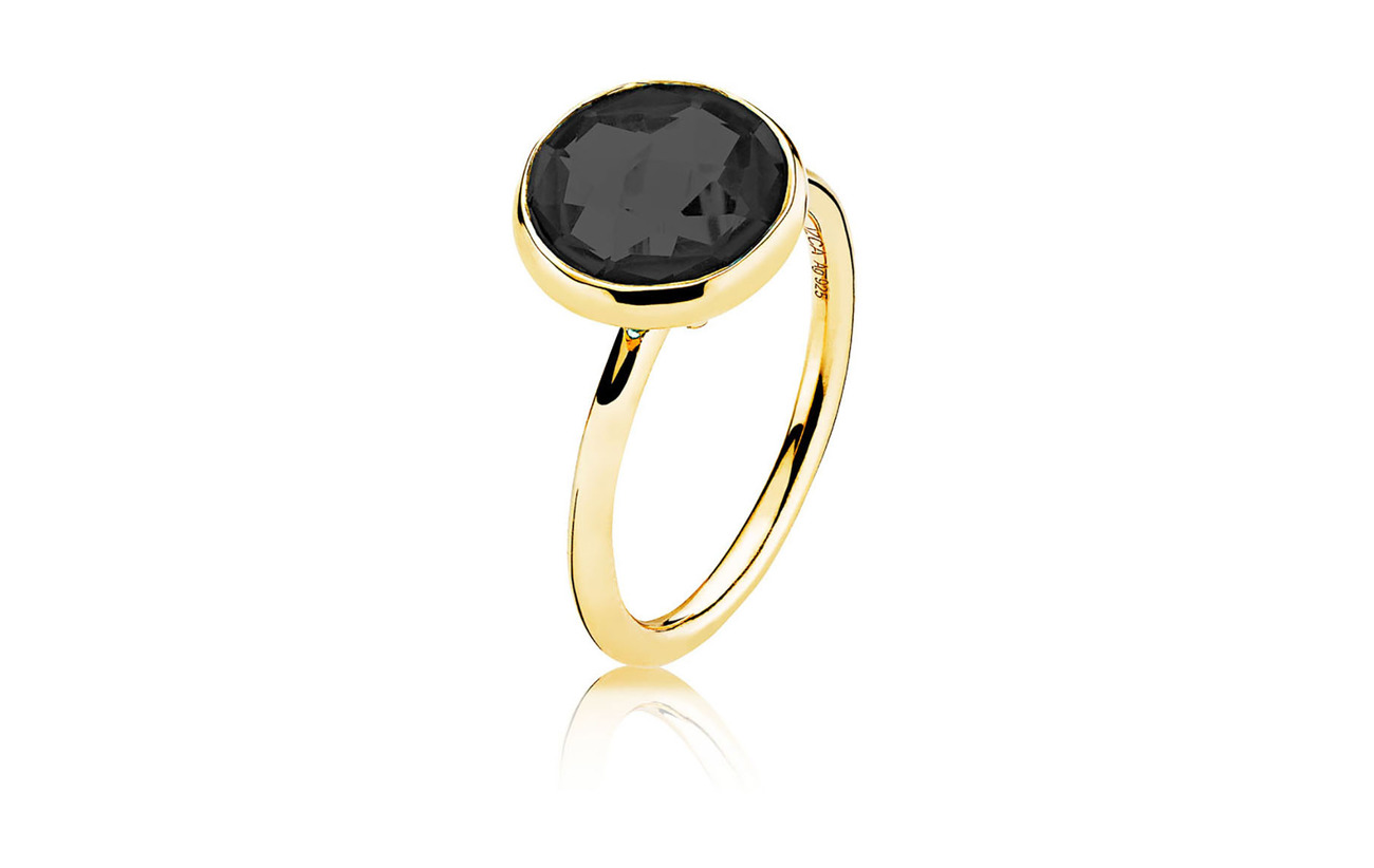 Izabel Camille Prima Donna Ring - SHINY GOLD, BLACK