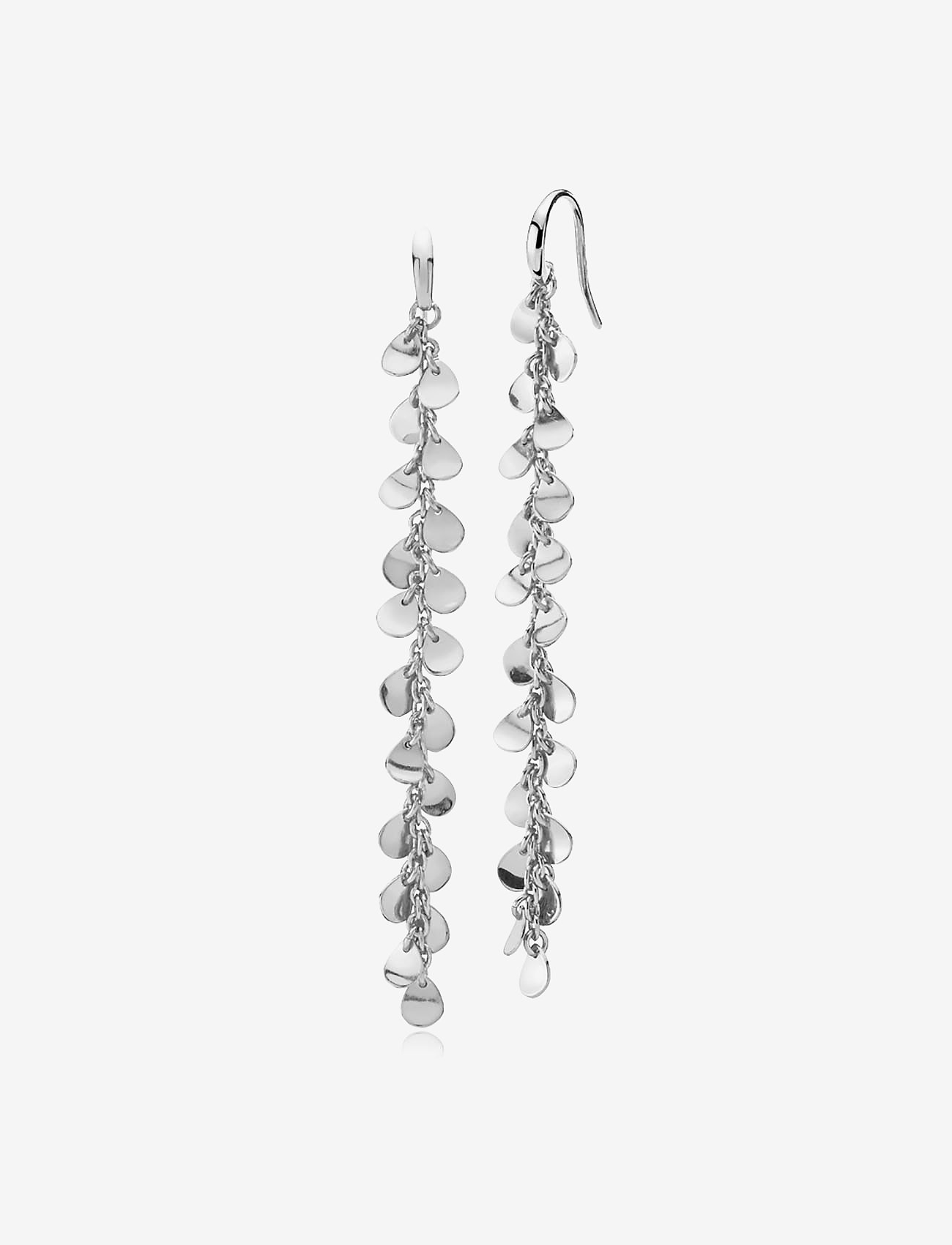 Izabel Camille - Robinia Large Earring - statement earrings - shiny silver - 0