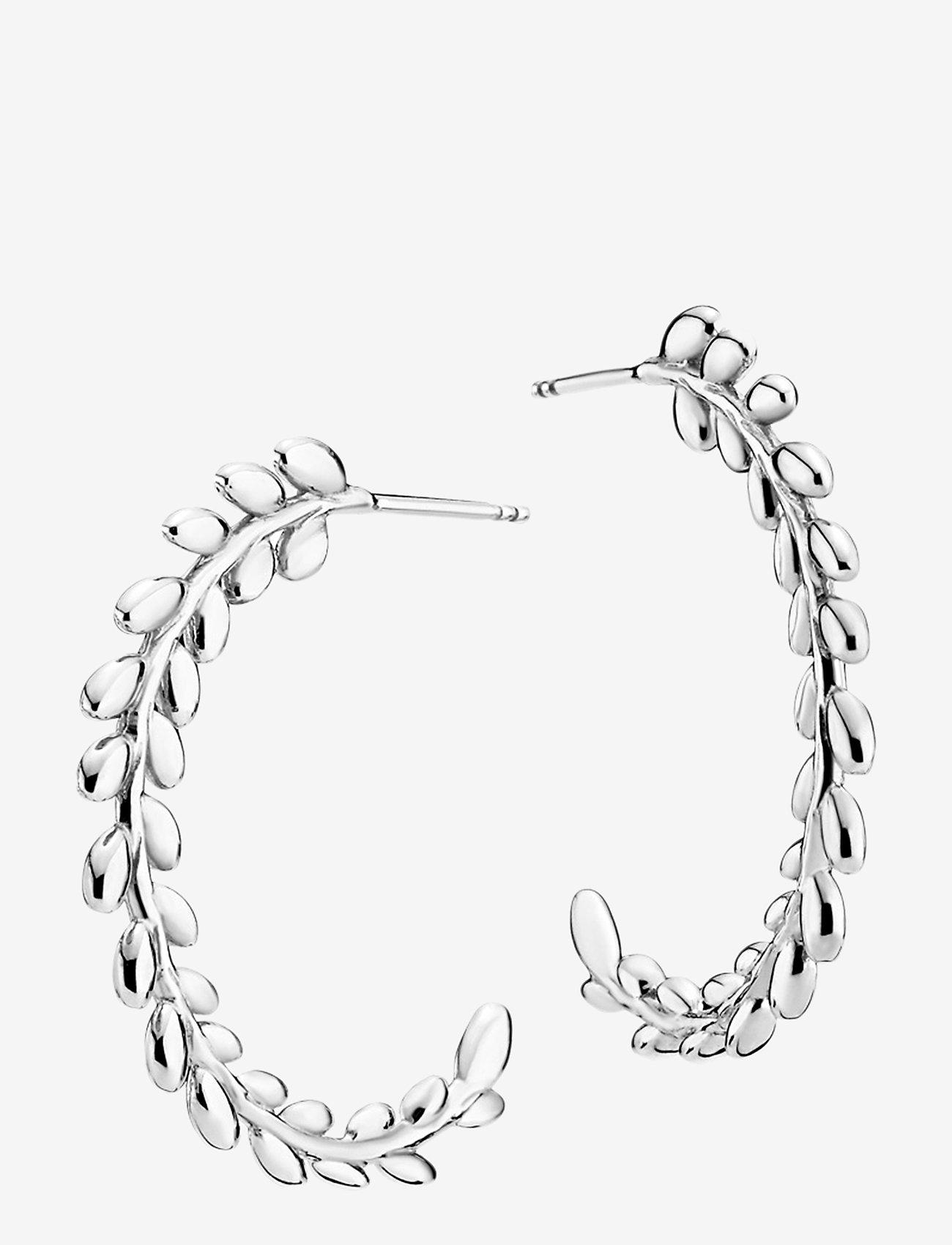 Izabel Camille - Olivia - korvarenkaat - rhodium plated sterling silver