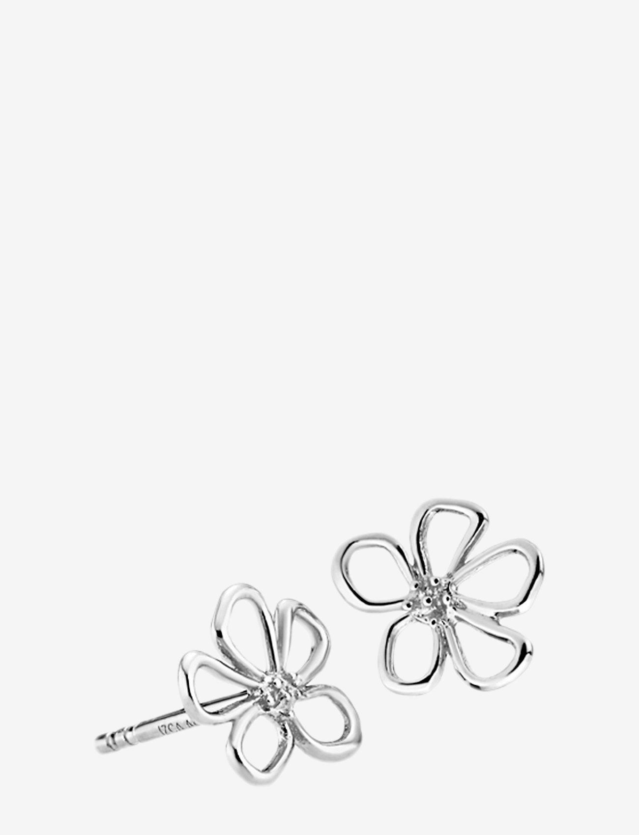 Izabel Camille - Honey - nappikorvakorut - rhodium plated sterling silver