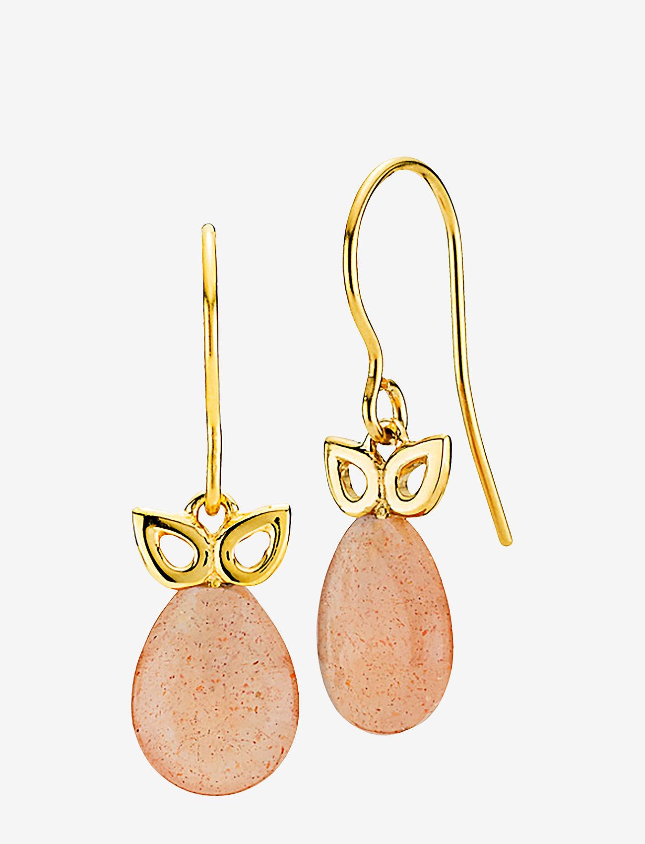 Izabel Camille - Scarlet - pendant - shiny gold, peach