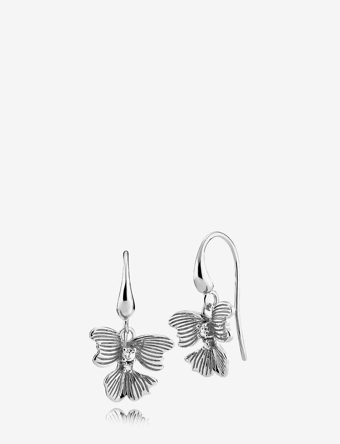 Izabel Camille - Violet - hängande örhängen - silver - 0