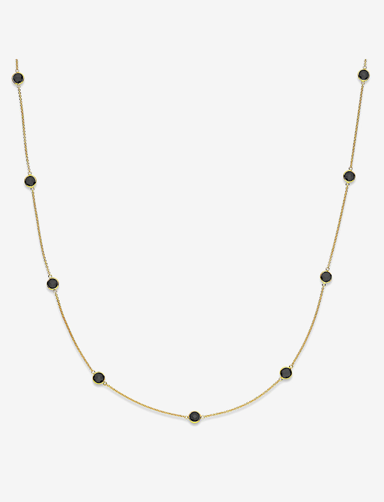 Izabel Camille - Prima Donna Necklace - elegante halskettingen - shiny gold, black - 0