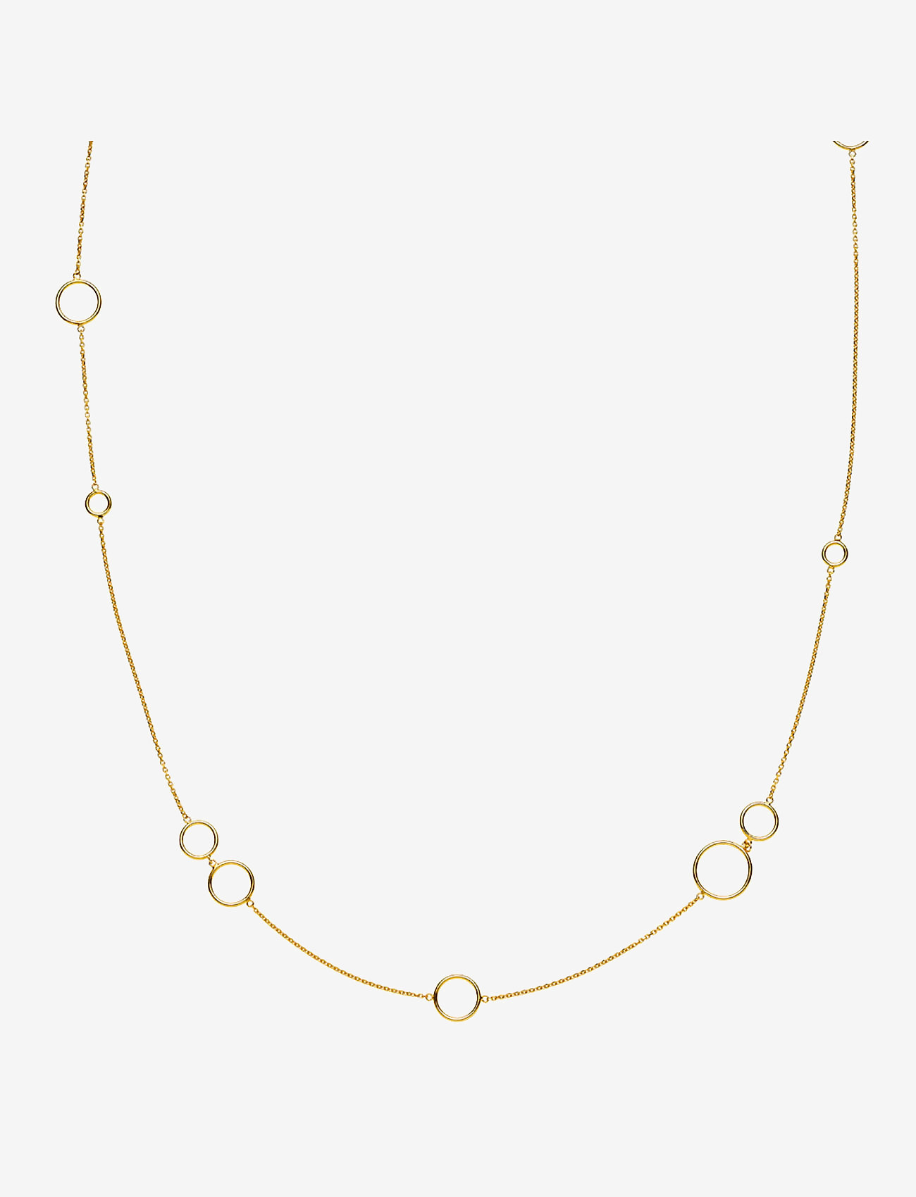 Izabel Camille - Metropol Necklace - dainty necklaces - shiny gold - 0