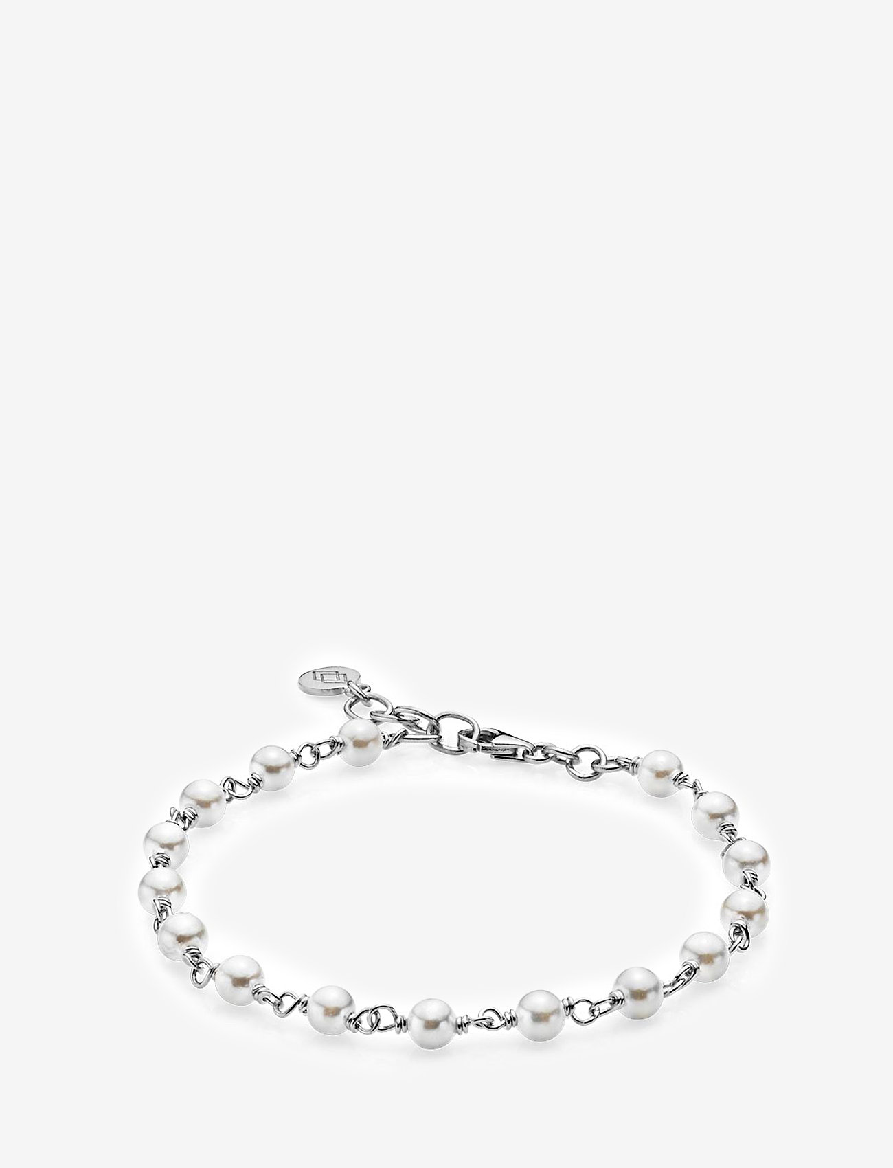 Izabel Camille - Miss Pearl - dainty - shiny silver, white - 0