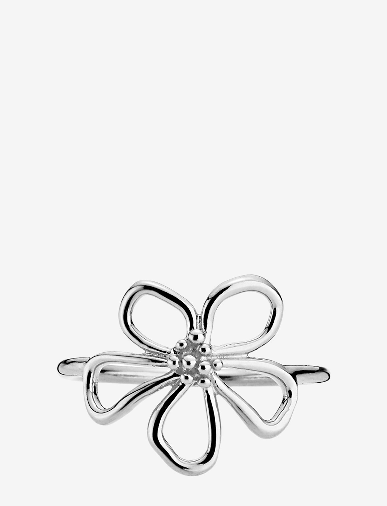 Izabel Camille - Honey - ringen - rhodium plated sterling silver - 0