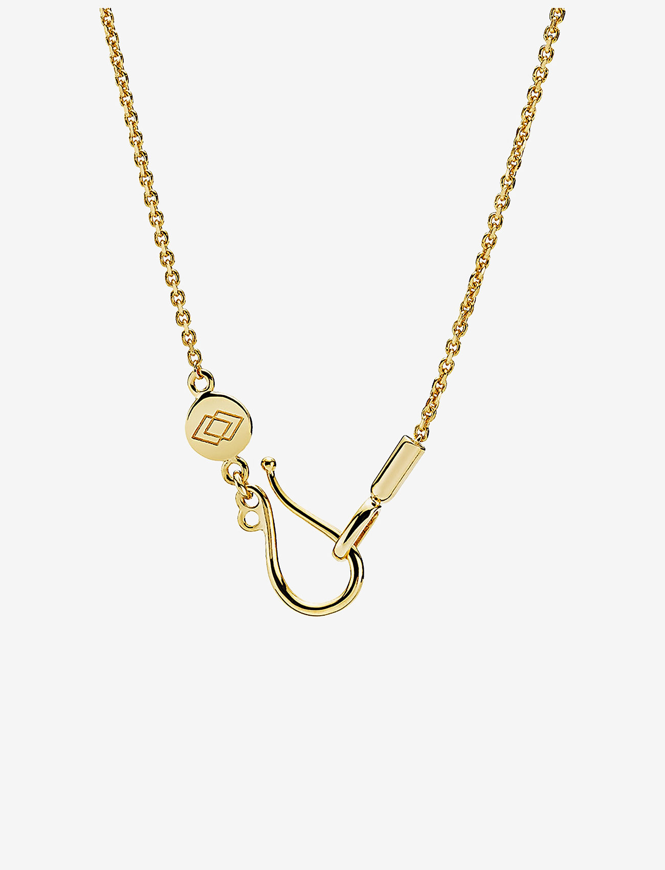 Izabel Camille - Anker - dainty necklaces - shiny gold - 0