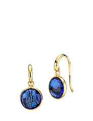 Prima Donna Earrings - ROYAL BLUE QUARTZ