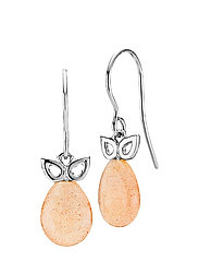 Scarlet - RHODIUM PLATED STERLING SILVER, PEACH