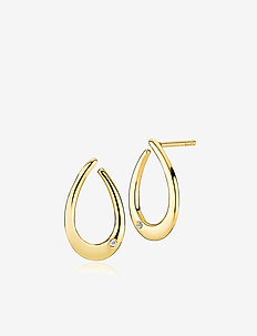 Diversity small Earrings - SHINY GOLD