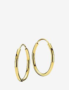 Flamingo small earrings - SHINY GOLD