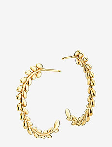 Olivia - hoops - shiny gold