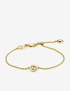 Beautiful Together Bracelet - SHINY GOLD