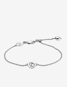 Beautiful Together Bracelet - SHINY SILVER