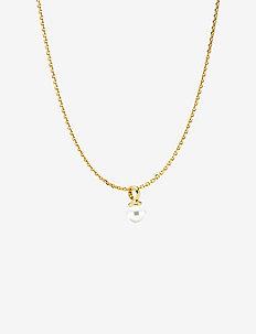 Anker-NewPearly - halskæder - shiny gold, white