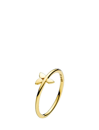 Poetry Ring - SHINY GOLD